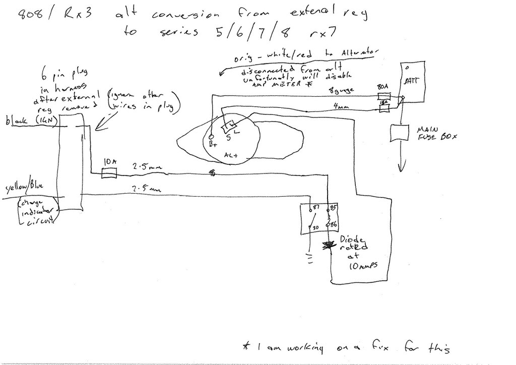 Wiring Diagram For Bosch Alternator